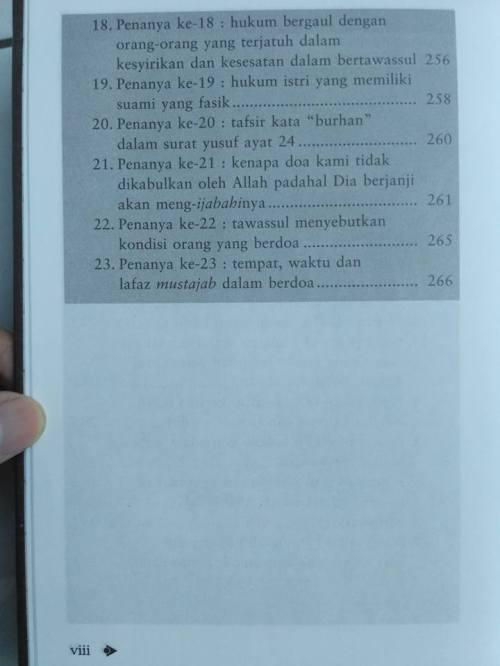 Daftar isi Shohih Tawassul -6