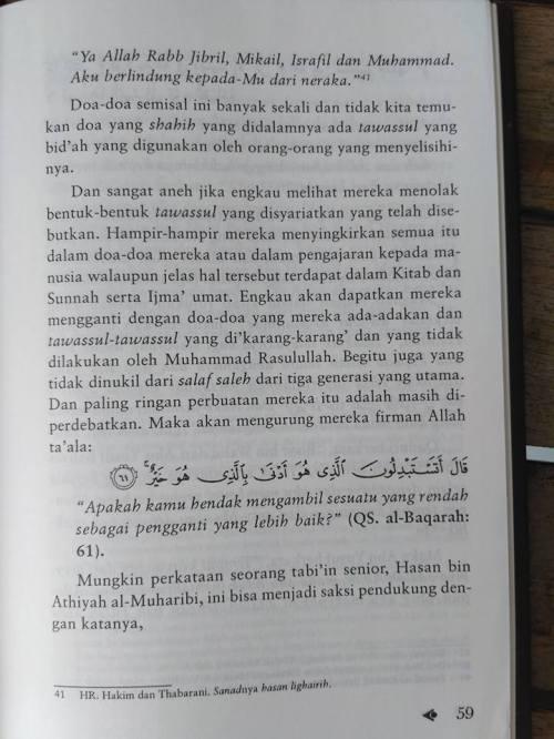 Shahih Tawasul dan Tabaruk -12