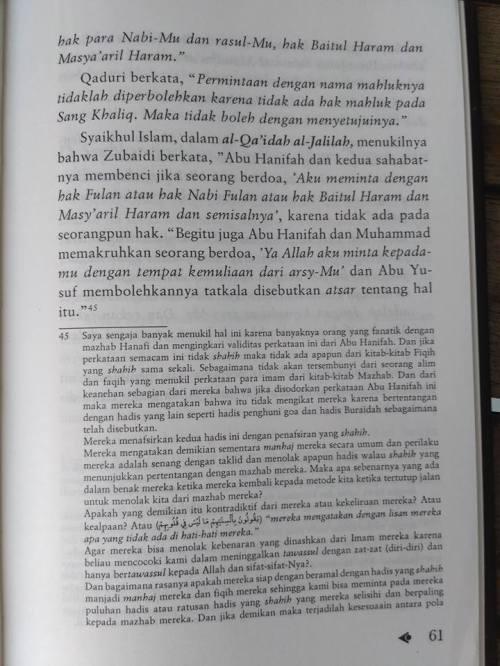 Shahih Tawasul dan Tabaruk -14