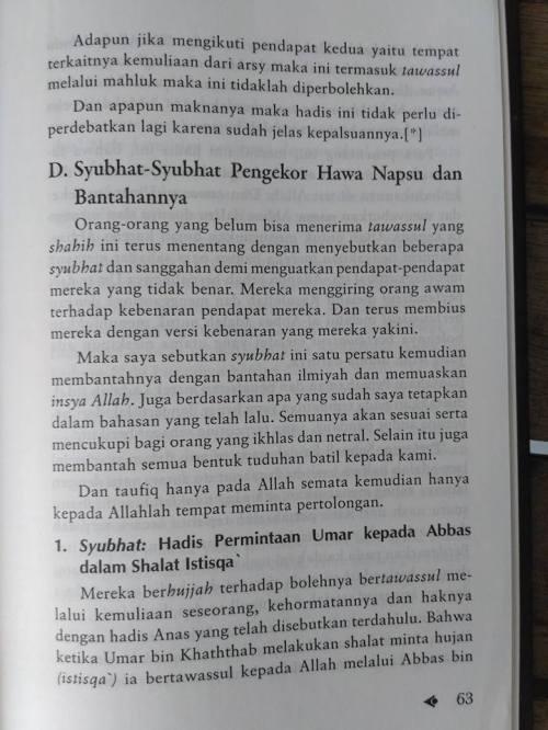 Shahih Tawasul dan Tabaruk -16