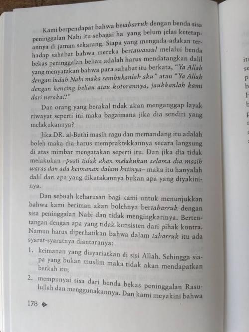 Shahih Tawasul dan Tabaruk -3