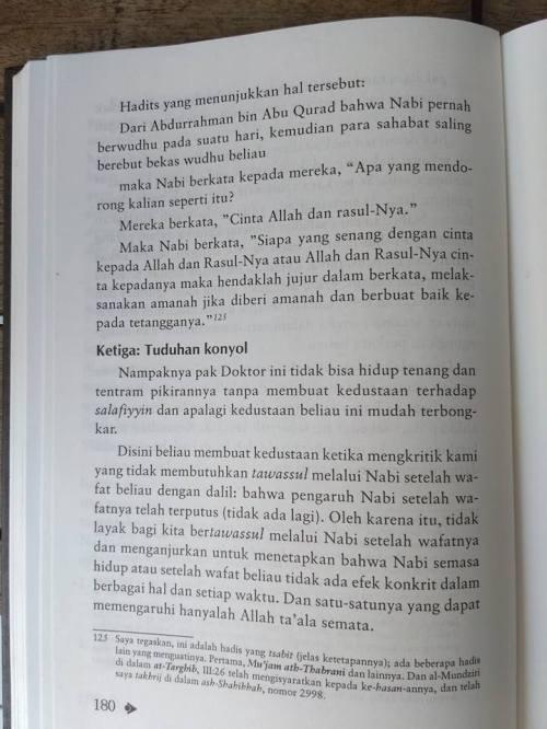 Shahih Tawasul dan Tabaruk -5