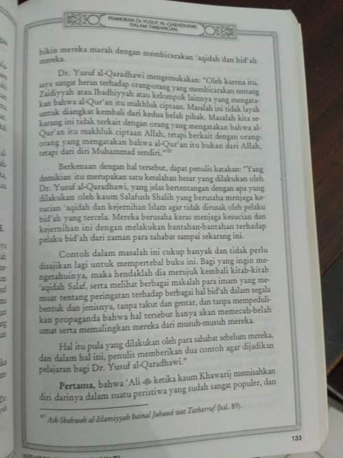 Toleransi Menyimpang Yusuf Qardhawy -2